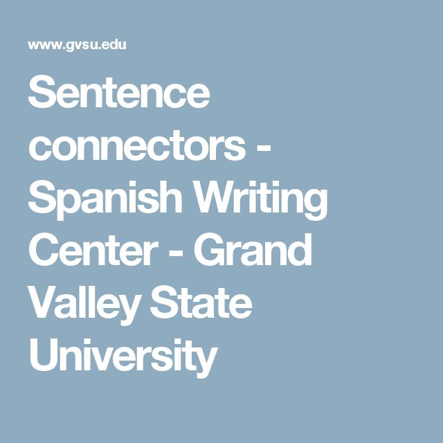 essay sentences in spanish The differences between english and spanish introduction: spanish is a romance language and part of the indo-european language family it is closely related to.
