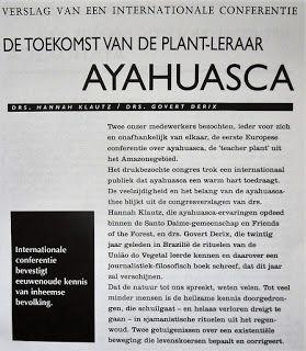 Digitale Bibliotheek: 24mei16 Kruiden, Planten en toepassingen Ayahuasc...