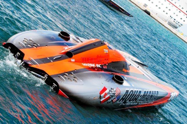 Aqua-Mania offshore powerboat