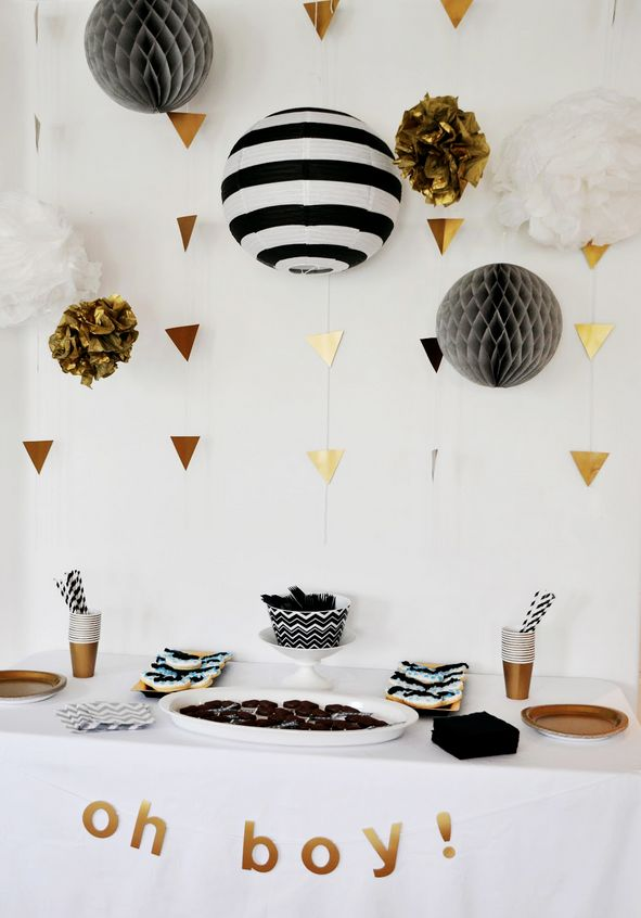 Party Ideas: Black and White
