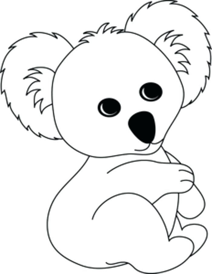 11 Printable Coloring Page For Kids Adorable Koala And Joeys