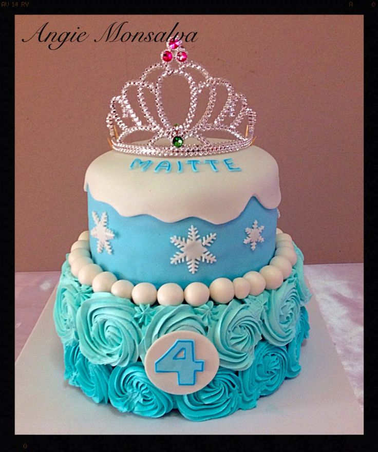 Torta frozen cumpleaños