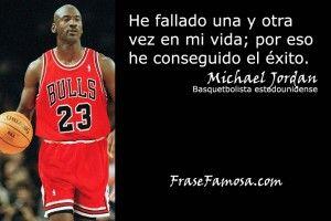 Frases de Michael Jordan - Frases de Exito - Frase Famosa