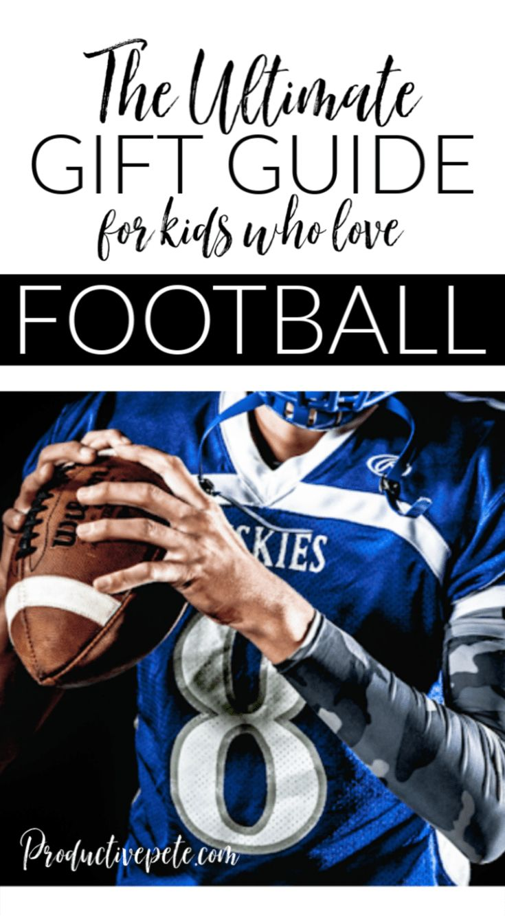 A Unique Gift Guide of Football Gifts for Kids Gifts for