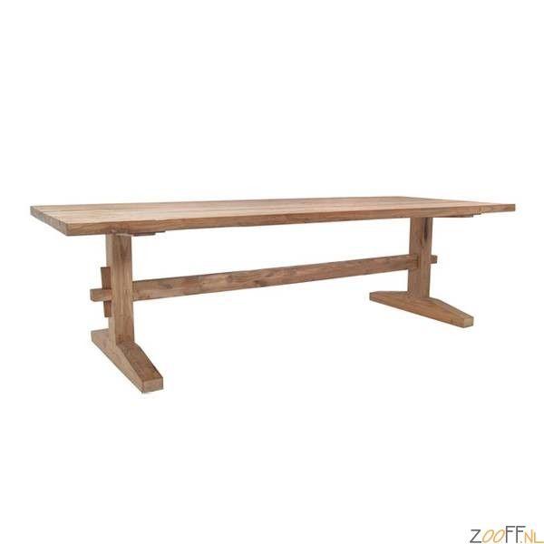 25 beste idee n over rustieke houten tafels op pinterest verf houten tafels houten tafels - Zeer grote eettafel ...