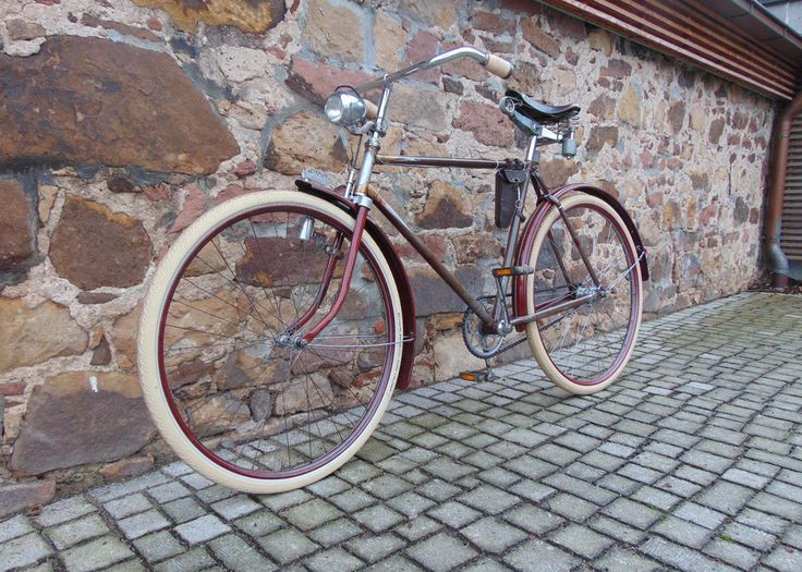 Oldtimer Fahrrad Continental