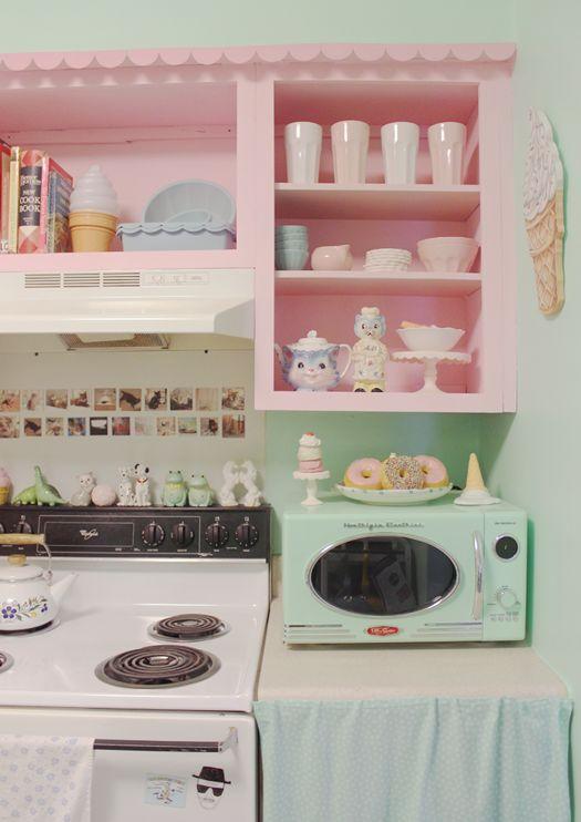 Kate Gabrielle - apartment tour part 1: my kitchen!