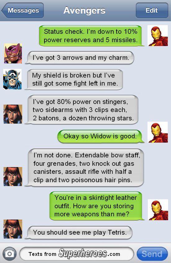 Widow Storage [Comic]