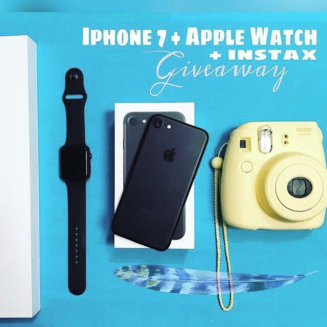 WORLDWIDE GIFT FOR YOU and YOUR FRIENDS!!  Ive partnered up with some of my Bloggers/Influencers and youtubers to give ONE lucky follower a brand new IPHONE 7 APPLE WATCH and INSTAX MINI 9 CAMERA!!  . To participate: 1 FOLLOW ME (We always Check) 2LIKE this photo 3GO TO @kessinhouse and REPEAT the same steps on every account until you come back to me (OR THE ACCOUNT YOU STARTED WITH) and leave a COMMENT when youre done. 4If you want a DOUBLE chance at winning TAG some real friends only who…