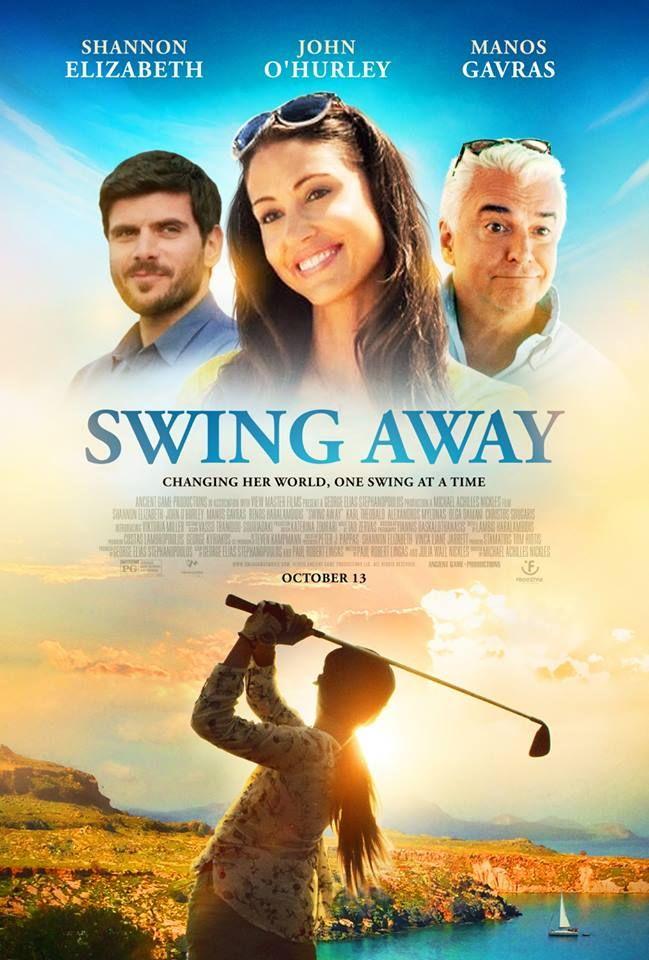 Swing Away - Movie Poster   #SwingAway #SwingAwayMovie #Poster #ShannonElizabeth #JohnOHurley #ManosGavras #Hollywood #Cinema
