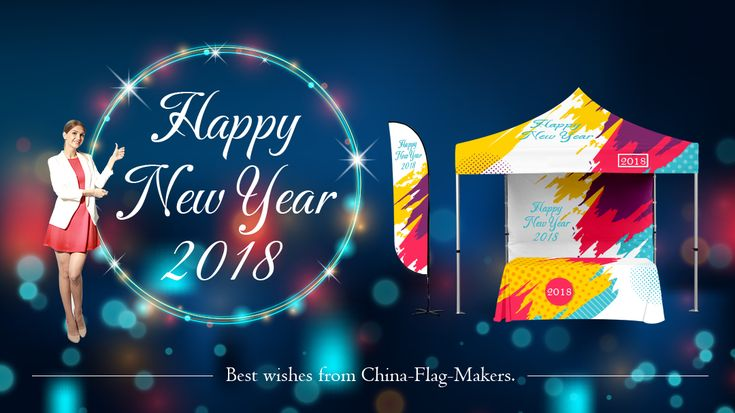 #HappyHolidays At the end of 2017, we'd like to take this opportunity to thank you for your continued partnership. It has been a pleasure to work with you this year. We wish you a happy holiday and a prosperous 2018!  Best wishes from China-Flag-Makers. Have an amazing new year filled with joy and success.