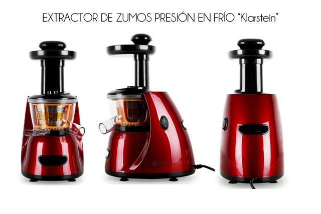 Review Extractor de zumos de presión en frío