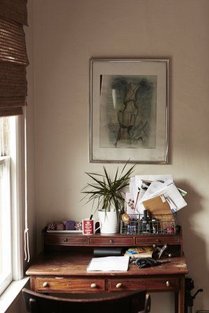 Desk in Laura Marling's LA home