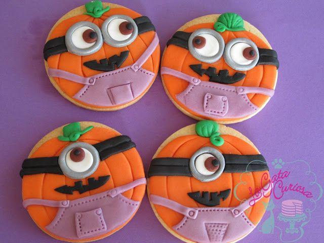 Ha Llegado Halloween A Las Galletas De Minions