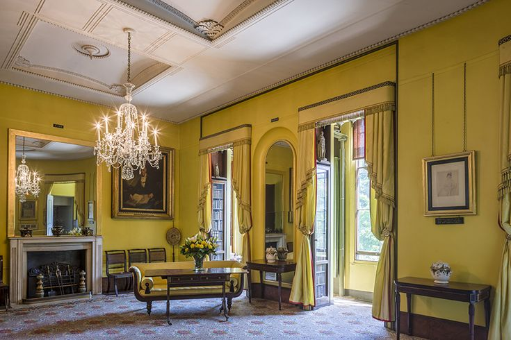Image result for james soane's museum yellow room