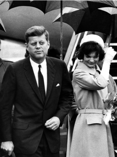 President John Fitzgerald Kennedy & First Lady Jacqueline Bouvier Kennedy