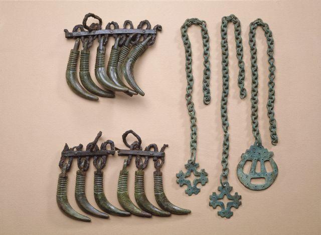 """Bear's tooth"" pendants from viking era Finland"
