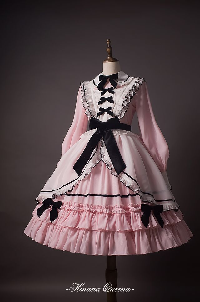 Hinana -To Alice- Lolita Collar OP Dress