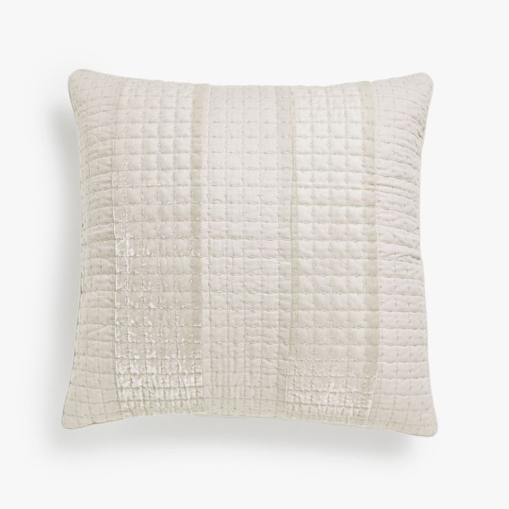 Imagen 1 Del Producto Funda De Cojín Algodón Bandas Terciopelo Striped Cushions Cushions Cushion Cover