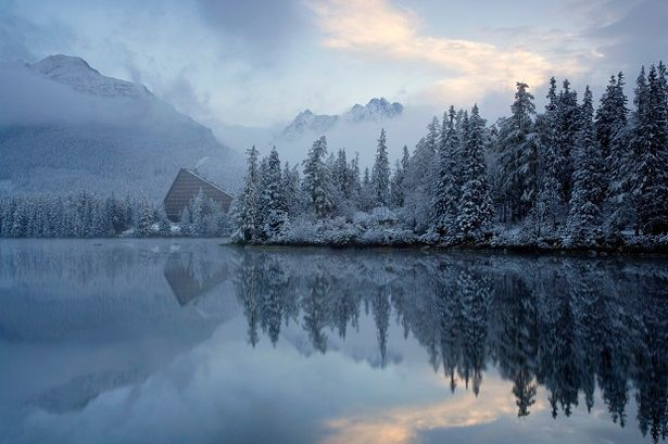 Beautiful: Freezing fog in the High Tatras