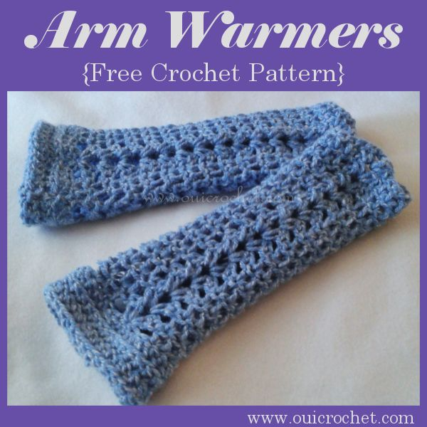 Simply Easy And Quick Arm Warmers By Corinagray Web Patterns