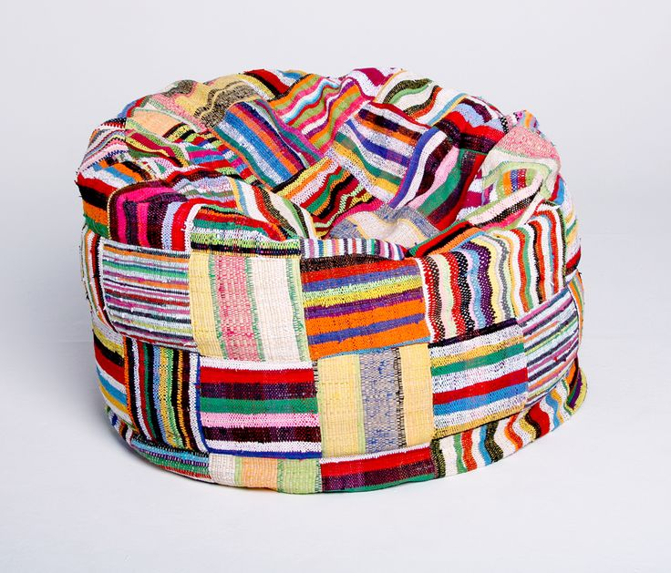 Boribori woven with rafia | Handwoven Bean Bags | Beanbags | Ashanti Design