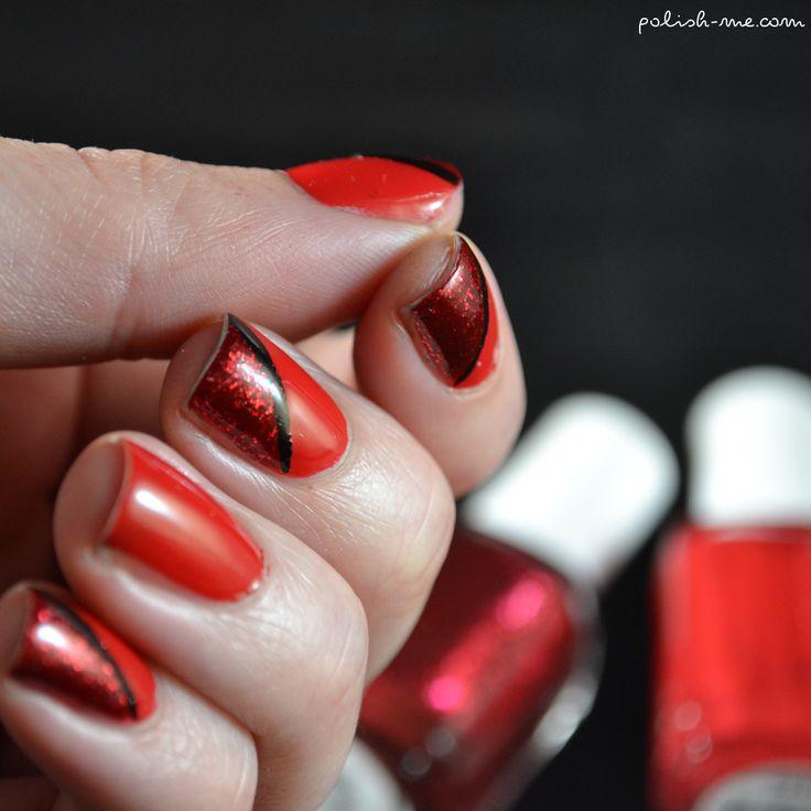Essie vernis rouge