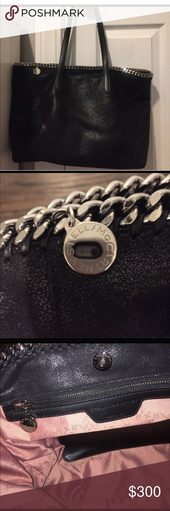 Authentic Stella bag in black. Stella bag in black 100 percent authentic. In good condition Stella McCartney Bags