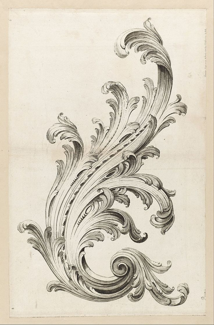File:Alexis Peyrotte - Acanthus Leaf Design - Google Art Project.jpg