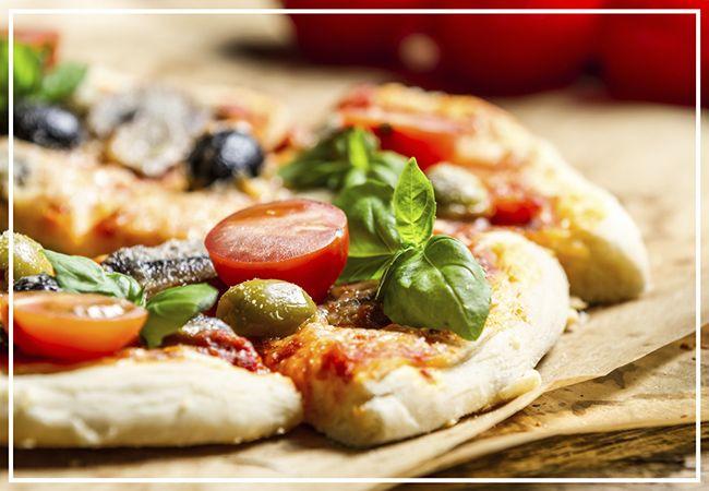 Masa crujiente para pizza