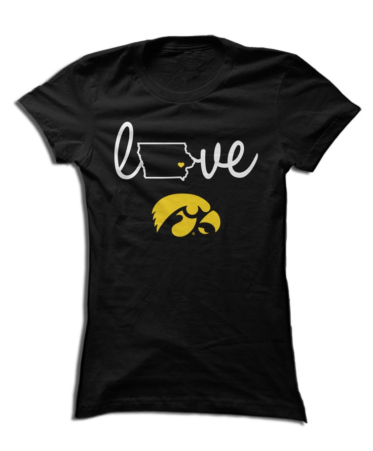 Iowa Hawkeyes Official Apparel - this licensed gear is the perfect clothing for fans. Makes a fun gift!