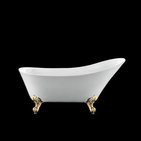 Les 25 meilleures id es concernant salle de bains avec for Salle de bain avec baignoire sur pied