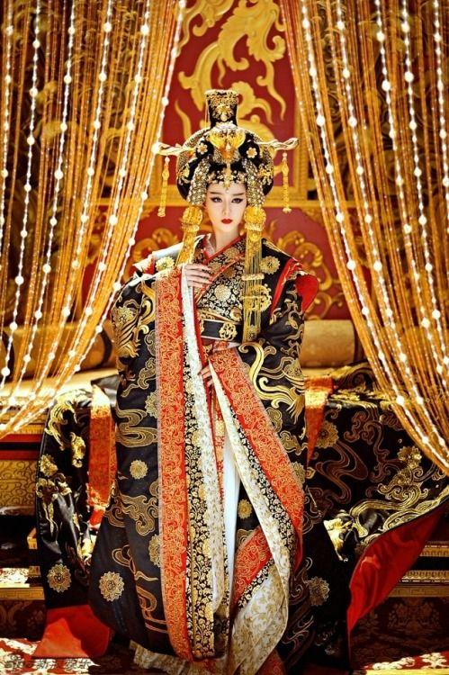 the empress of china 武则天 wu zetian fan bing bing 范冰冰 all
