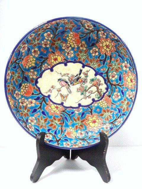 Longwy Faience Pottery Bowl - Majolica