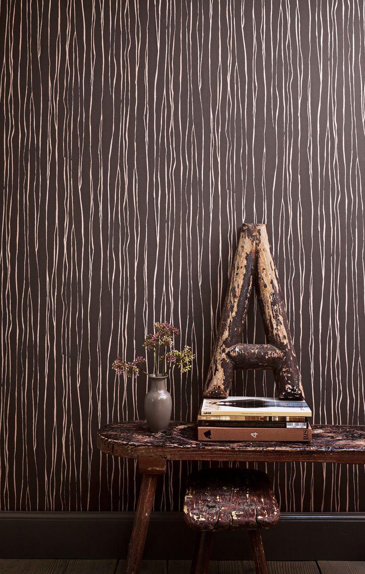 Meer dan 1000 ideeën over Bruin Behang op Pinterest - Wit Behang ...