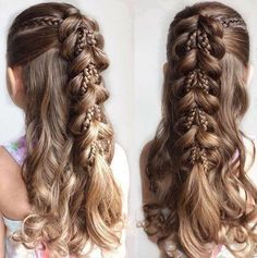 40 Pretty Fun And Funky Braids Hairstyles For Kids - Part 8