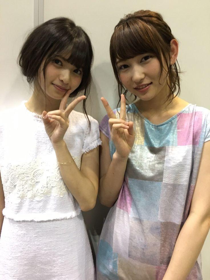 乃木坂46 齋藤飛鳥 欅坂46 志田愛佳 Nogizaka46 Saito Asuka Keyakizaka46 Shida Manaka
