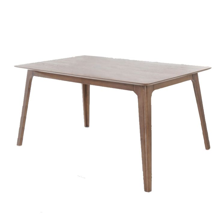 Wooden table Ever MDF top walnut 150x90x75