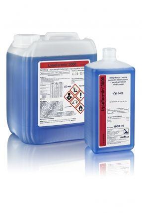 Lysoformin 3000 1 l Preparat w koncentracie na bazie aldehydu glutarowego, do manualnej dezynfekcji i mycia narzędzi, endoskopów i innych wyrobów medycznych oraz powierzchni.