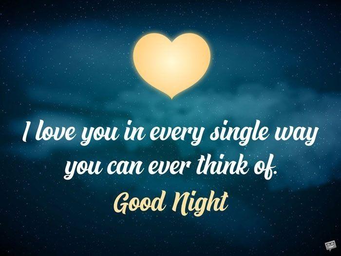 Good Night Sweetheart Good Night Love Messages Good Night Quotes Good Night Love Images