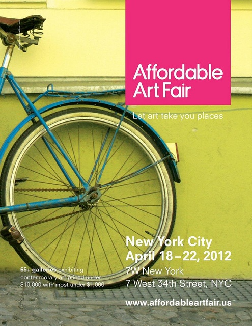 Affordable Art Fair, NYC April 18-22