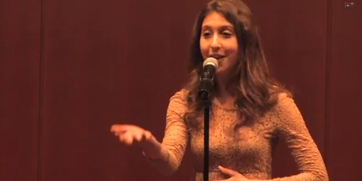 """Women in my family have been shrinking for decades,"" declares Lily Myers. Her slam poem, ""Shrinking Women,"" which won Best Love Poem at the 2013 College Unions Poetry Slam Invitational in April, perfectly expresses the pressure women feel to take up less and less space, to be quiet, to be small and to eat sparingly."