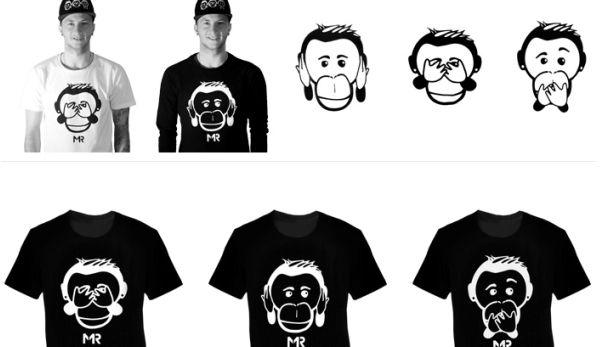 Ройс выпустил линию одежды с изображением обезьян - GIGAfootball.Net