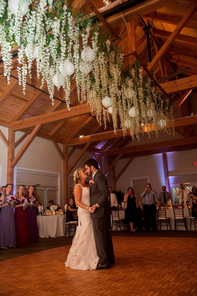 romantic wedding + hanging flowers - Google Search