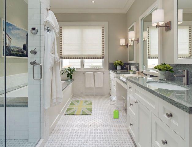Long narrow bathroom bathrooms pinterest long narrow for Long skinny bathroom ideas