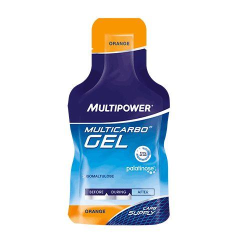 Suplimente Multipower. Multicarbo gel este folosit inainte de efort pentru un plus de energie eliberat treptat