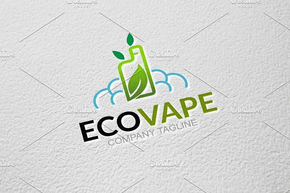 Eco Vape by GoldenCreative on @creativemarket