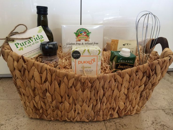 """A """"thank you"""" Gift Basket for one of our favourite corporate clients. Containing all natural and organic products. #organic #puravidaawayoflife"""