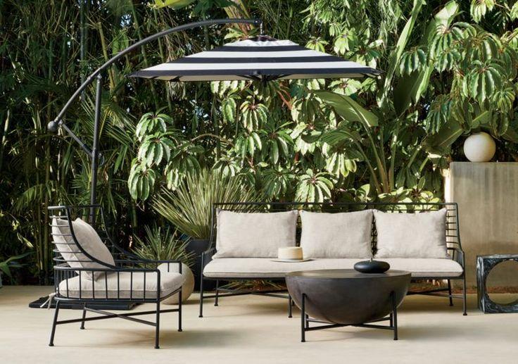 Breton black metal chair reviews cb2 patio furniture