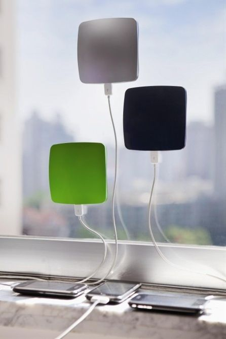 Solar phone-charger for road trips or life in gene